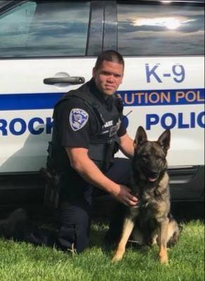 Officer Carpenter & K9 Kai