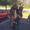 Officer Geiken and K-9 Sully
