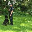Officer Lange and K-9 Frank