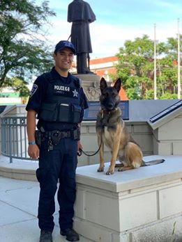 Officer Wilson & K9 Otto