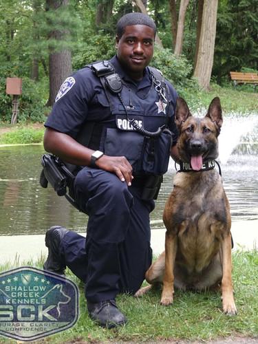 Officer Fischer & K9 Andii