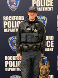 Officer Vargas and K9 Nyx
