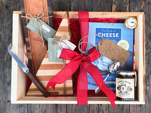 The 'Cheese Lovers' Gift Box