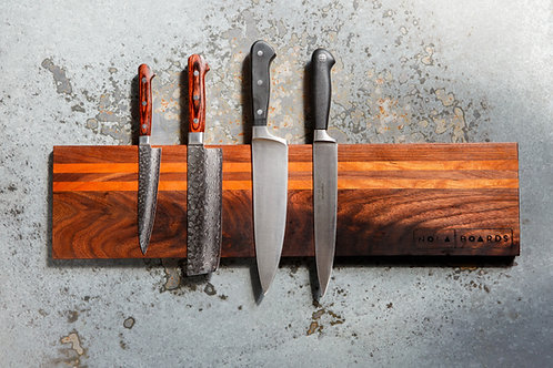 """18"""" Magnetic Knife Holder,Cherry/Walnut (Wall Mounted)"""