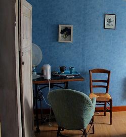 Chambre Bleuet Le Moulin de Bretel