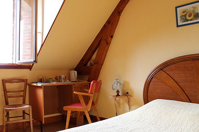 Chambre Tournesol Le Moulin de Bretel