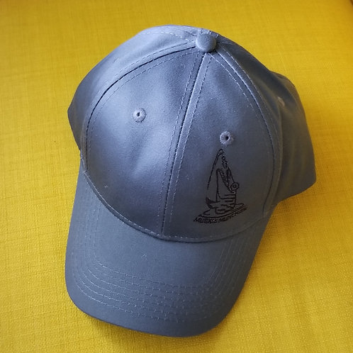 Youth Velcro Back Hat - Charcoal