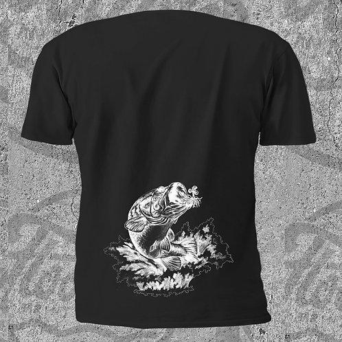 Bass Munchies Art T-Shirt - Black