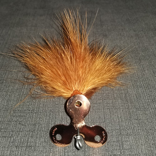 Trifecta Marabou Copper Brown