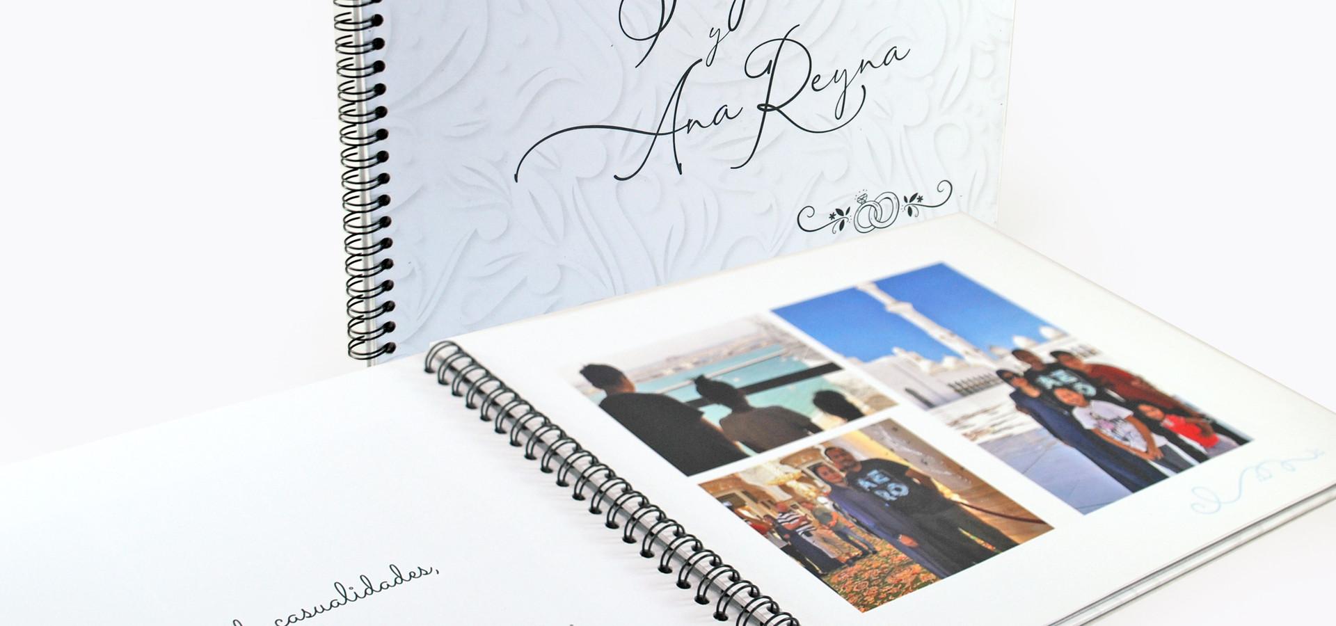 PhotoBook para Luna de Miel