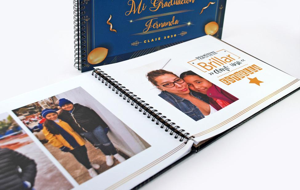 PhotoBook para Graduación