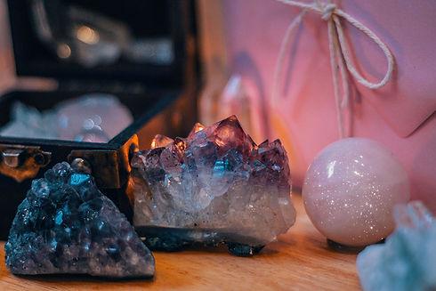 Crystals On A Table_Seva Reiki.jpg