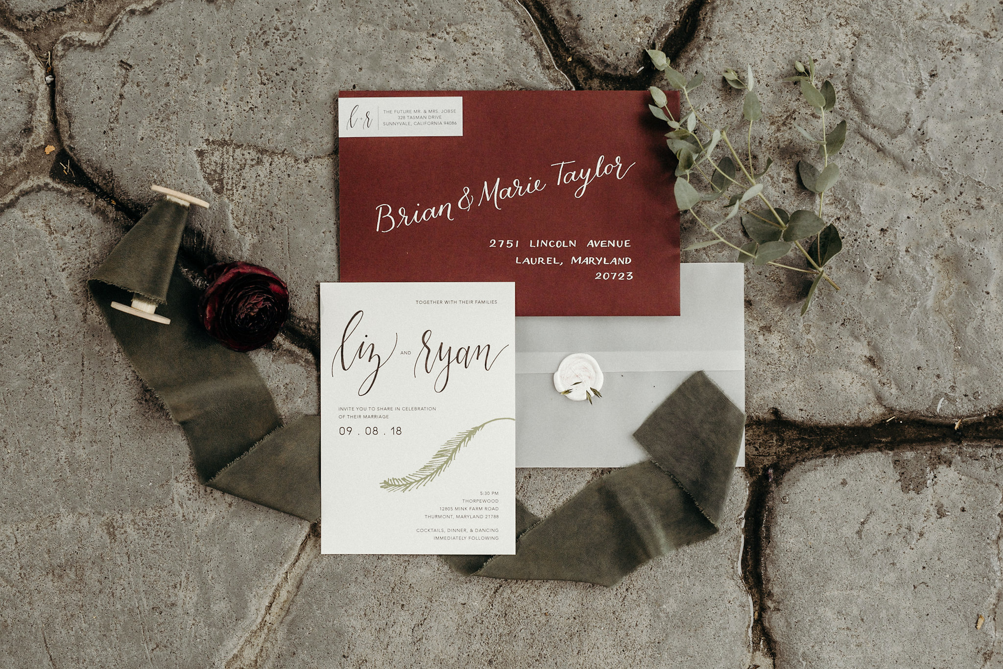 Earthy & Organic Invitation Suite