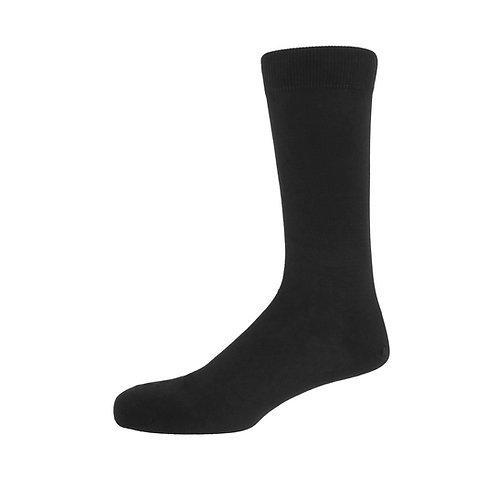 Charcoal Men's Plain Socks