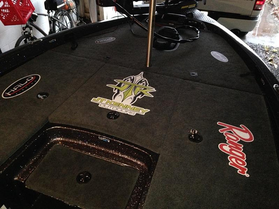 Projects By Eye Candy Signs - Decals for boat carpet