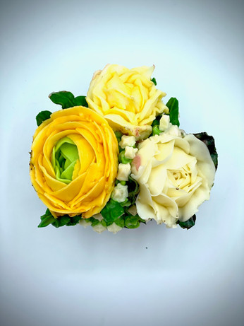 Ranunculus and Roses