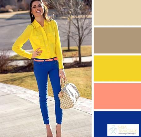 12 великолепных цветовых сочетаний для вашего весеннего гардероба