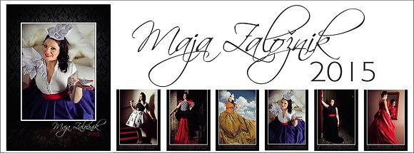 Maja Založnik 2015 calendar