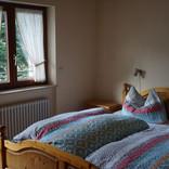 Schlafzimmer, Fewo Vogesenblick
