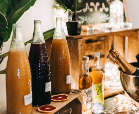 Open drinks bar catering