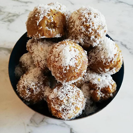 Recipe share: coffee walnut bliss balls
