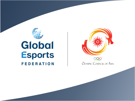 Olympic Council of Asia & Global Esports Federation Team Up to Promote, Develop Esports