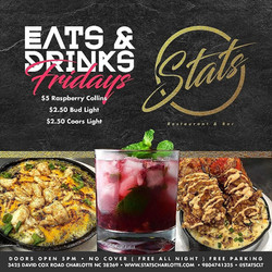fridays eats and drinks