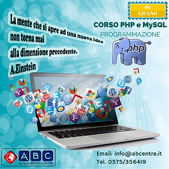 Corso PHP - Alpha British Centre