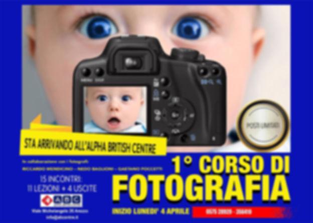Corso di Fotografia - Arezzo / Alpha British Centre
