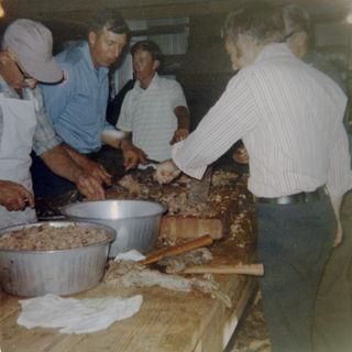 CHOPPING BBQ 1970s