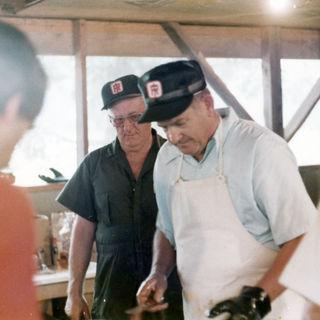 Chopping BBQ 1980s
