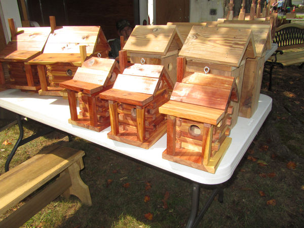 Handcrafted Wood Items