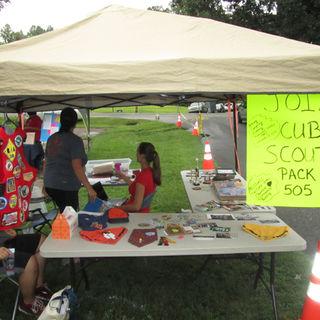 Cub Scout Tent
