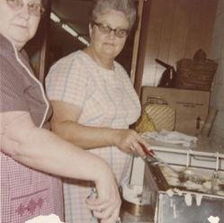 Cooking Hushpuppies 1970s