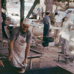 Center BBQ mid 1960s