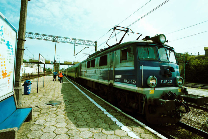 鉄道で行くポーランドの旅