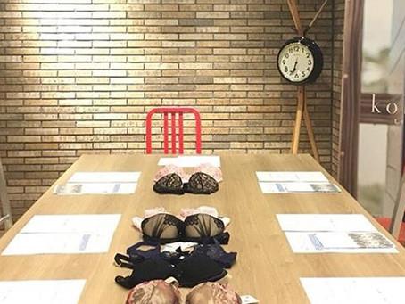 第4回ランジェリーセミナーレポート・ブラジャー選び編