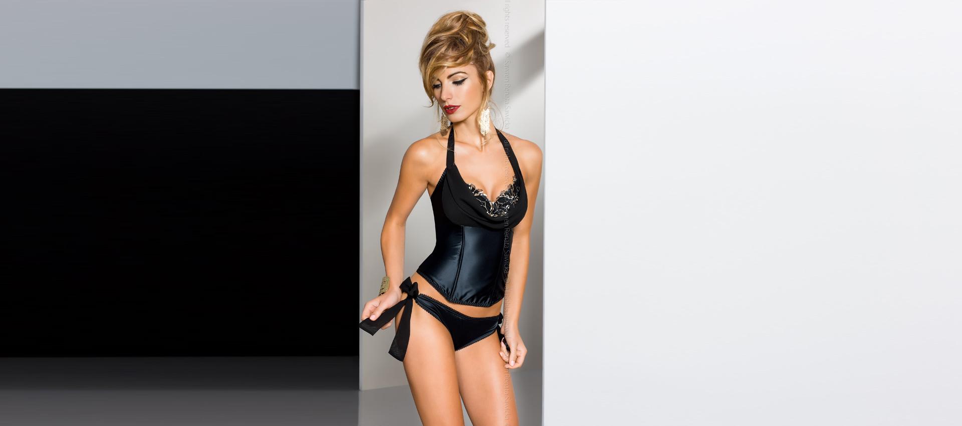 PALAISE corset + fancybrief