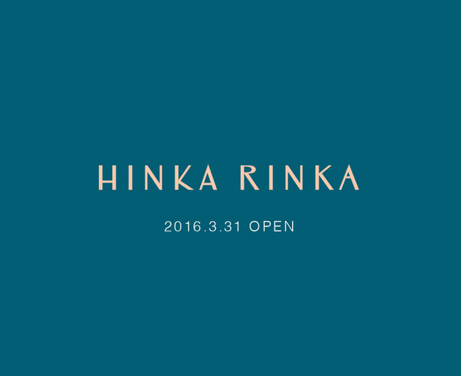 HINKA RINKA 銀座 出品のお知らせ
