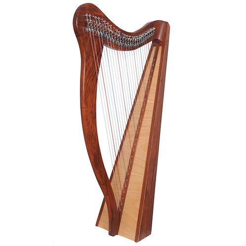 Ard Ri Harp 27 String Rosewood Harp