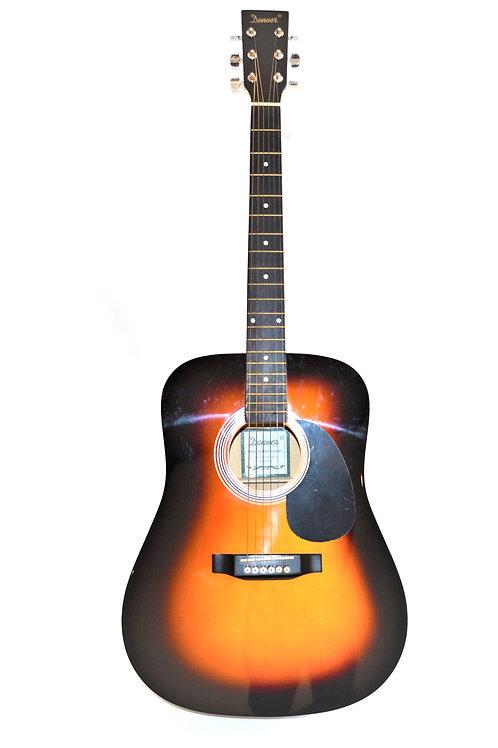 Denver Sunburst Acoustic Guitar