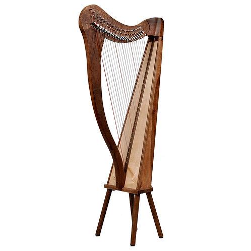 Ard Ri Harp 22 String Walnut Harp