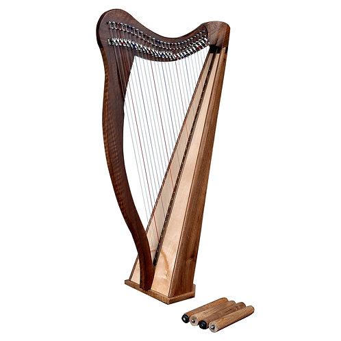 Ard Ri Harp 27 String Walnut Harp