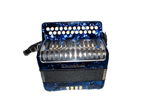 Roundstone Button Accordion (Blue)