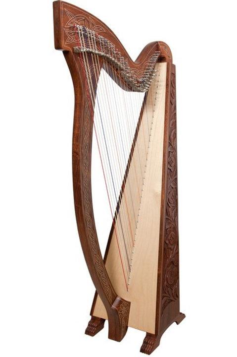 Boru 36 String Rosewood Harp