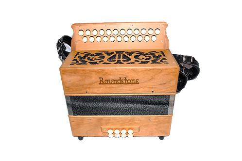 Roundstone Button Accordion (Wood)