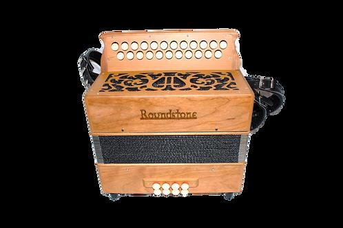 Roundstone Button Accordion (Wood)