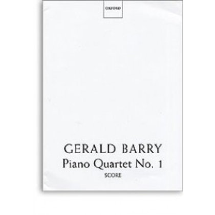 Gerald Barry Piano Quartet No. 1