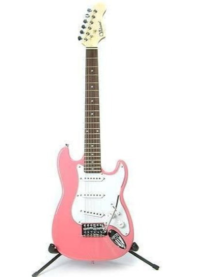 Volcano Pink 3/4 Electric Guitar
