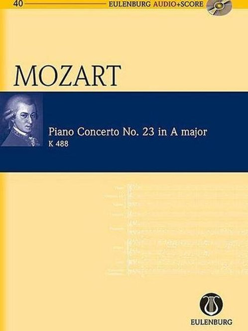 Mozart Piano Concerto No.23 in A Major Book